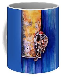 At The Feeder Coffee Mug by Jean Cormier