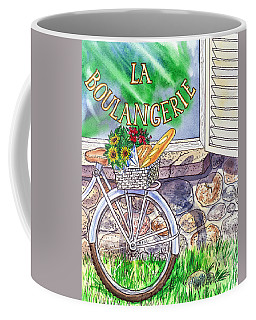 At The French Bakery  Coffee Mug
