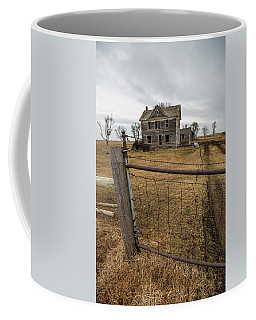 Coffee Mug featuring the photograph At The Gate  by Aaron J Groen