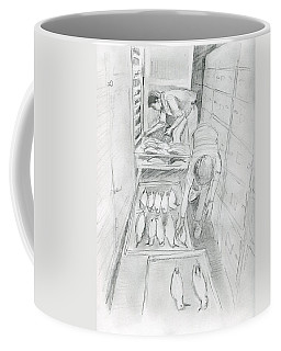 At The Museum I Coffee Mug