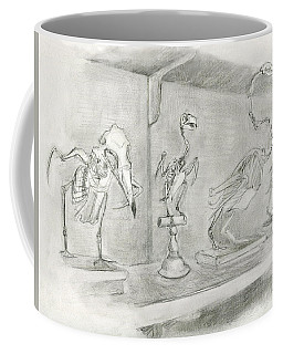 Bird Skeletons Coffee Mug