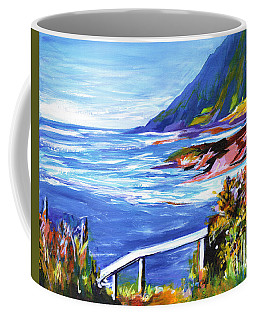 At The Ocean On A Perfect Day Like This Coffee Mug