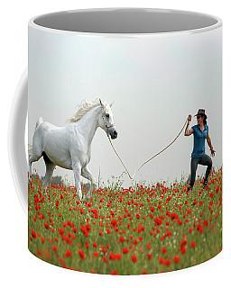 At The Poppies' Field... 2 Coffee Mug