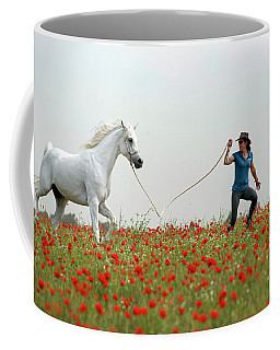 At The Poppies' Field... 2 Coffee Mug