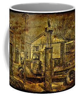 At The Pumps No.7009a1 Coffee Mug