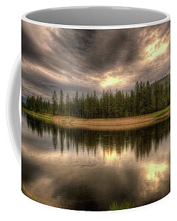 At The River Coffee Mug by Loni Collins