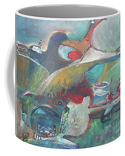 At The Sea Shore Coffee Mug
