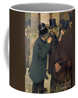 At The Stock Exchange Coffee Mug