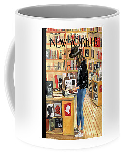 At The Strand Coffee Mug