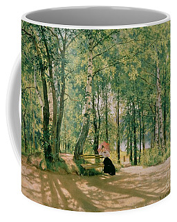 At The Summer Cottage Coffee Mug