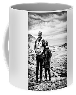 Coffee Mug featuring the photograph On The Edge by Nick Bywater