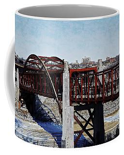 At Three Bridges Park Coffee Mug