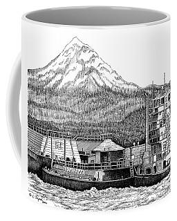 At Work On The Columbia Coffee Mug by Lawrence Tripoli