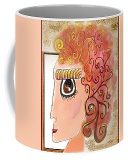 Athena In The Mirror Coffee Mug