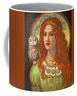 Athena And Her Owl- Wise Ones Coffee Mug