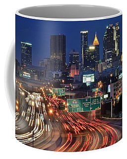 Atlanta Heavy Traffic Coffee Mug by Frozen in Time Fine Art Photography