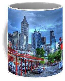 Atlanta Landmark The Varsity Art Coffee Mug
