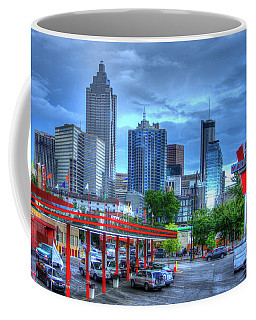 Atlanta Landmark The Varsity Art Coffee Mug