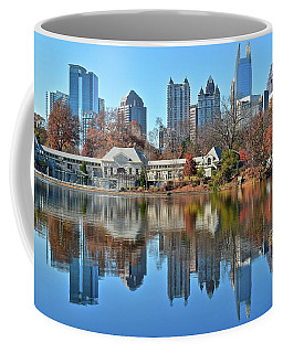 Atlanta Reflected Coffee Mug by Frozen in Time Fine Art Photography