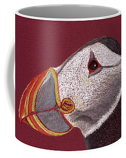 Atlantic Puffin Profile Coffee Mug