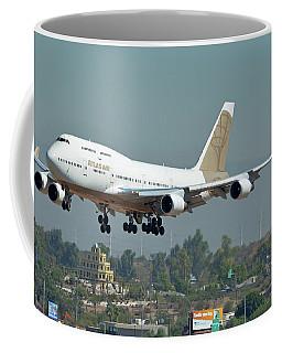 Atlas Air Boeing 747-481 N322sg Phoenix Sky Harbor October 6 2017 Coffee Mug