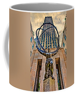 Coffee Mug featuring the photograph Atlas At The Rock by Chris Lord
