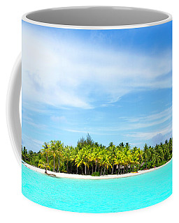 Coffee Mug featuring the photograph Atoll by Sharon Jones