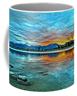 Coffee Mug featuring the photograph Atom  by Eric Dee