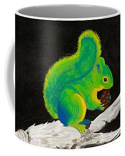 Atomic Squirrel Coffee Mug