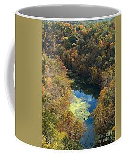 Coffee Mug featuring the photograph Atop Ha Ha Tonka National Forest by Sara Raber