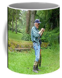 Attaching The Lure Coffee Mug