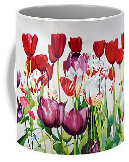 Coffee Mug featuring the painting Attention by Elizabeth Carr