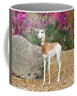 Coffee Mug featuring the painting Attentive Edition 2 by Judy Kay