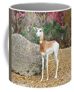Coffee Mug featuring the painting Attentive by Judy Kay
