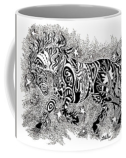 Attitude In Motion Coffee Mug by Yvonne Blasy