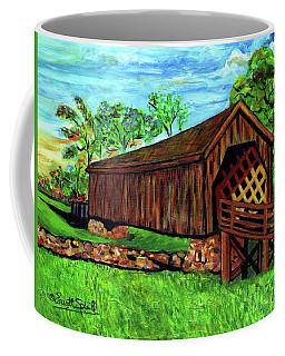 Auchumpkee Creek Covered Bridge Coffee Mug