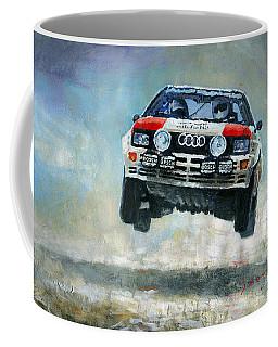 Audi Quattro Gr.4 1982 Coffee Mug