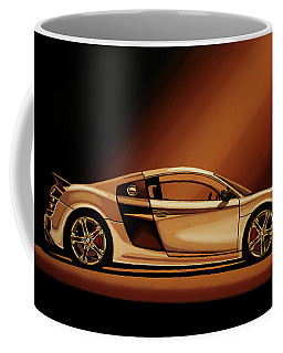 Audi R8 2007 Painting Coffee Mug