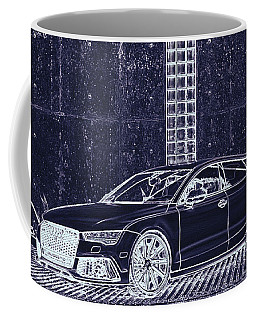 Audi Rs7 Vossen  Coffee Mug