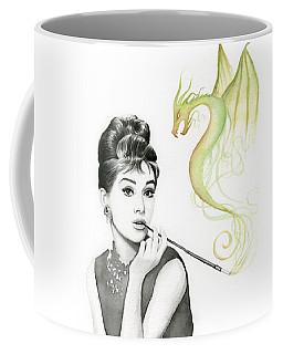 Audrey And Her Magic Dragon Coffee Mug