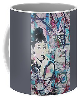 Audrey Chanel Coffee Mug