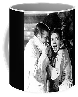 Audrey Hepburn As Holly Golightly Coffee Mug