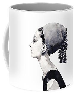 Audrey Hepburn For Vogue 1964 Couture Coffee Mug