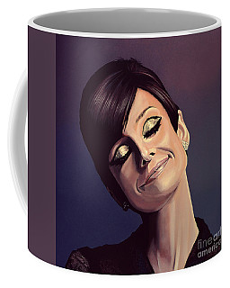 Audrey Hepburn Painting Coffee Mug