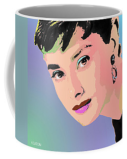 Audrey Coffee Mug by John Keaton