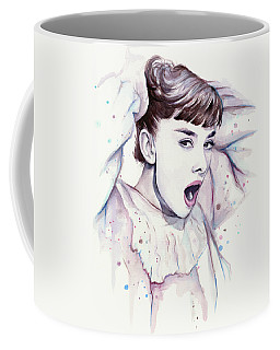 Audrey - Purple Scream Coffee Mug