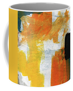 August- Abstract Art By Linda Woods. Coffee Mug
