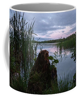 August Evening At The Lake Enajarvi Coffee Mug