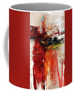 August Night- Abstract Art By Linda Woods Coffee Mug