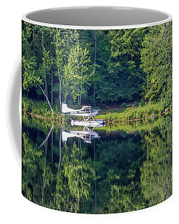 Coffee Mug featuring the photograph August Reflectons by Guy Whiteley